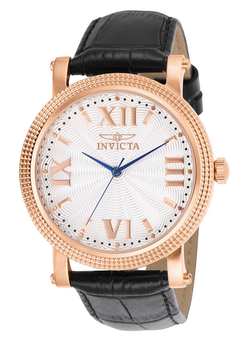 Invicta Women's 25752 Vintage Quartz 3 Hand White Dial Watch