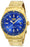 Invicta Men's 25811 Pro Diver Quartz 3 Hand Blue Dial Watch