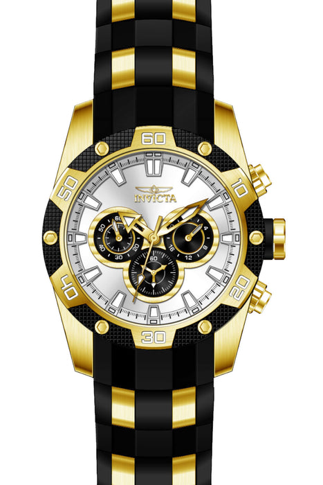 Invicta Men's 25834 Speedway Quartz Chronograph Silver Dial Watch