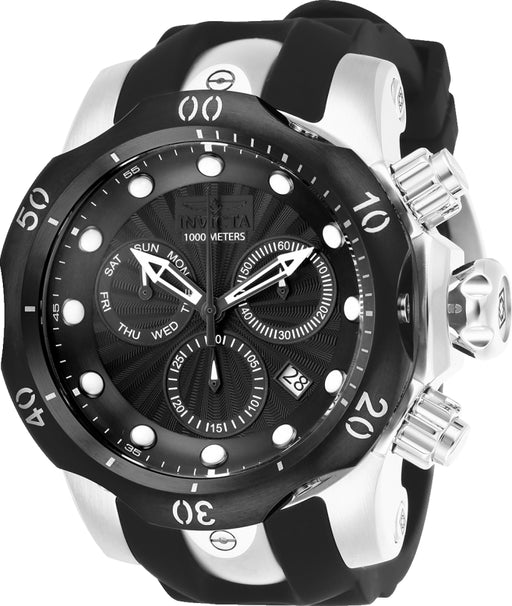 Invicta Men's 25900 Venom Quartz Chronograph Black Dial Watch