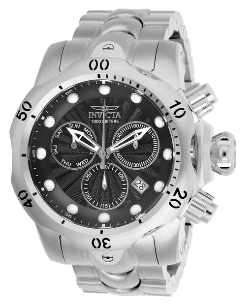 Invicta Men's 25902 Venom Quartz Chronograph Black Dial Watch