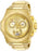 Invicta Men's 26052 Akula Quartz Chronograph Gold Dial Watch