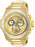 Invicta Men's 26053 Akula Quartz Chronograph Gold Dial Watch