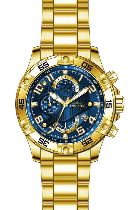 Invicta Men's 26095 S1 Rally Quartz Multifunction Blue Dial Watch