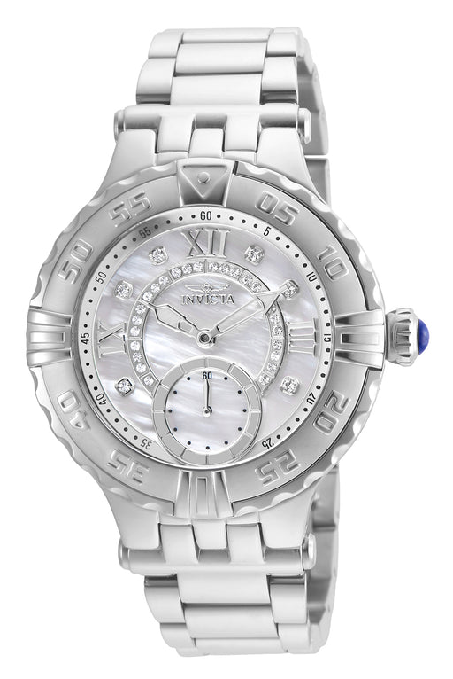 Invicta Women's 26139 Subaqua Quartz Multifunction White Dial Watch