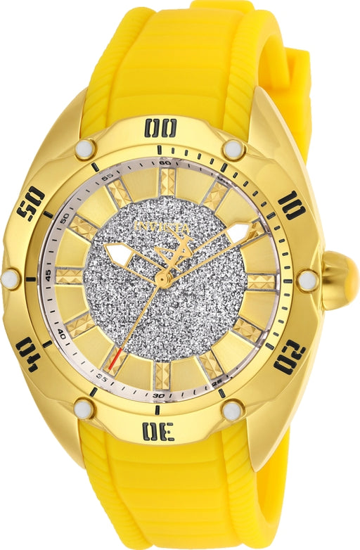 Invicta Women's 26148 Venom Quartz 3 Hand Gold Dial Watch