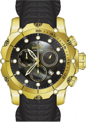 Invicta Men's 26244 Venom Quartz Chronograph Black Dial Watch