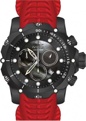 Invicta Men's 26247 Venom Quartz Chronograph Black Dial Watch