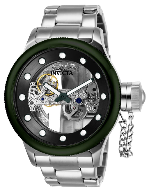 Invicta Men's 26275 Russian Diver Automatic 2 Hand Black Dial Watch