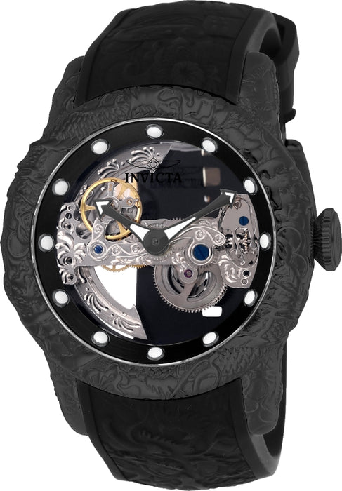 Invicta Men's 26286 S1 Rally Automatic Multifunction Black Dial Watch