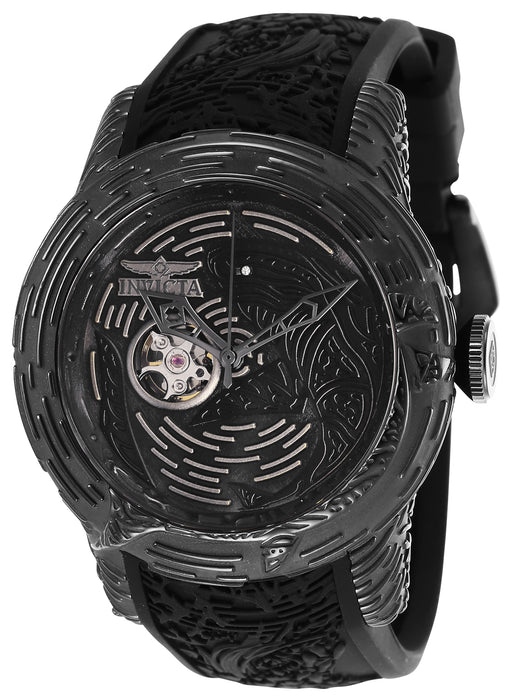 Invicta Men's 26426 S1 Rally Automatic 3 Hand Black Dial Watch