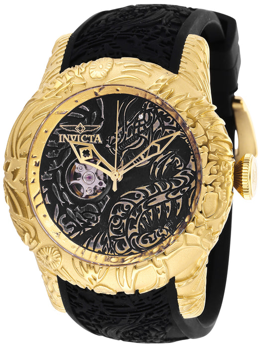 Invicta Men's 26433 S1 Rally Automatic 3 Hand Black Dial Watch