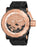 Invicta Men's 26514 Coalition Forces Automatic 3 Hand Black, Rose Gold Dial  Watch
