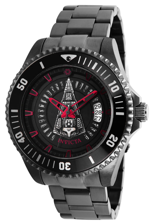 Invicta Men's 26560 Star Wars Automatic Multifunction Black Dial Watch