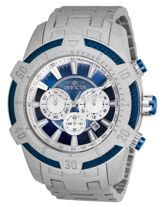 Invicta Men's 26612 Pro Diver Quartz Multifunction Blue Dial Watch