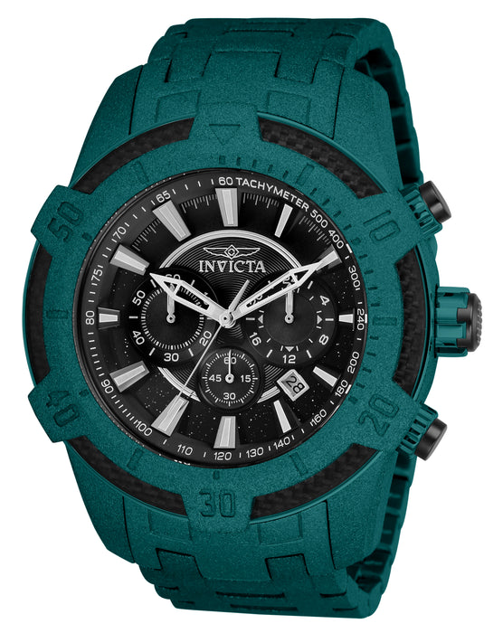 Invicta Men's 26616 Pro Diver Quartz Multifunction Black Dial Watch
