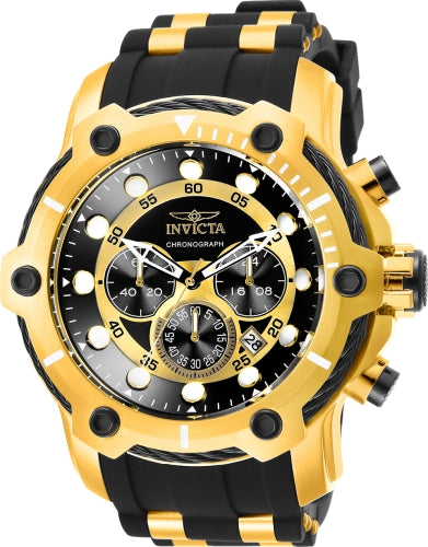Invicta Men's 26751 Bolt Quartz Chronograph Black Dial Watch