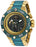 Invicta Men's 26782 DC Comics Quartz Chronograph Gunmetal, Green Dial Watch