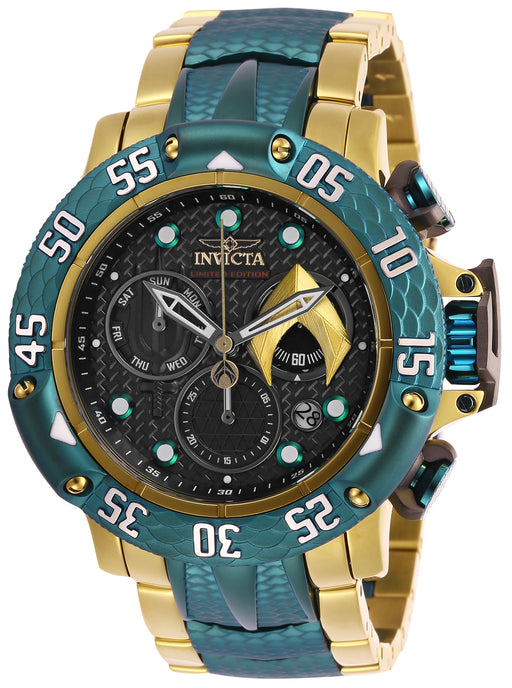 Invicta Men's 26784 DC Comics Quartz Chronograph Gunmetal Dial Watch