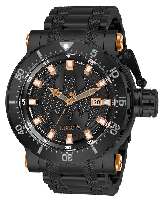 Invicta Men's 26822 DC Comics Automatic 3 Hand Black Dial Watch