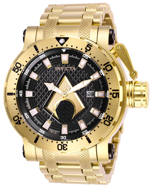 Invicta Men's 26833 DC Comics Automatic 3 Hand Black Dial Watch