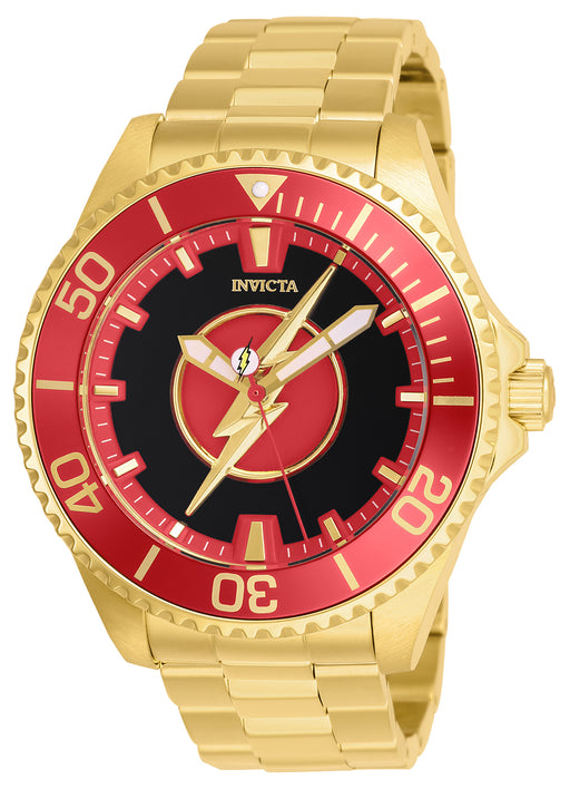 Invicta Men's 26905 DC Comics Automatic 6 Hand Black Dial Watch