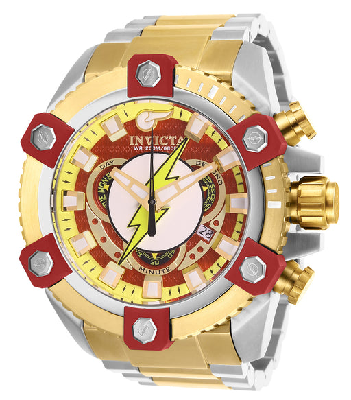Invicta Men's 26911 DC Comics Quartz 3 Hand Red Dial Watch