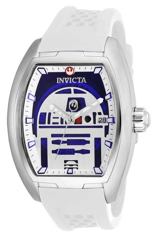 Invicta Men's 26940 Star Wars Automatic 3 Hand Black, Blue, Silver Dial Watch
