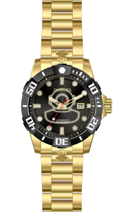 Invicta Men's 26979 Pro Diver Automatic 3 Hand Black Dial Watch