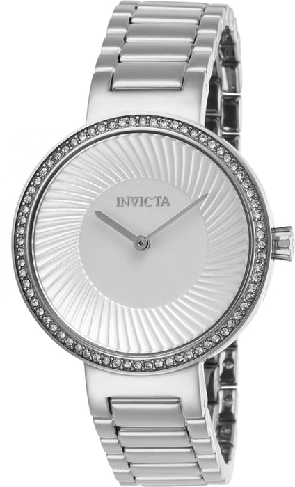 Invicta Women's 26998 Specialty Quartz 2 Hand Silver Dial Watch