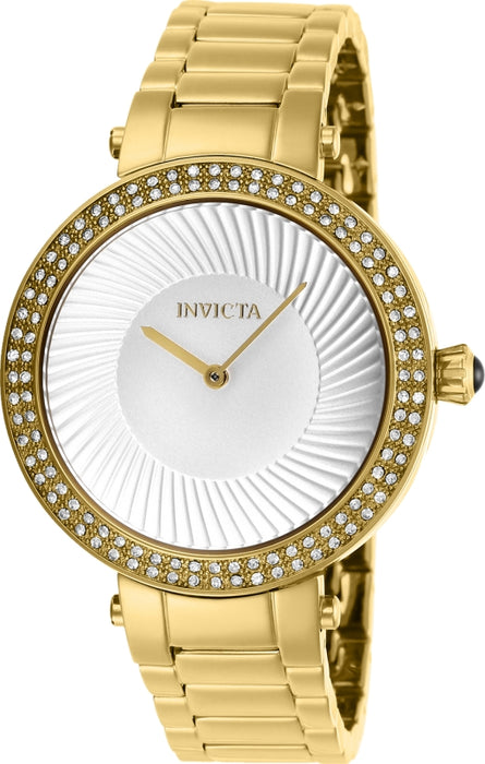 Invicta Women's 27004 Specialty Quartz 2 Hand Silver Dial Watch