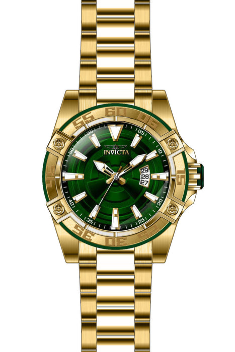 Invicta Men's 27013 Pro Diver Automatic 3 Hand Green Dial Watch