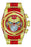 Invicta Men's 27101 Marvel Quartz Chronograph Red, Gold Dial Watch