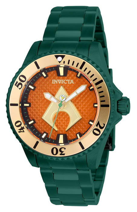 Invicta Women's 27140 DC Comics Automatic 3 Hand Orange Dial Watch