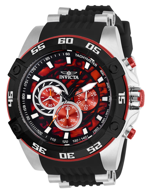 Invicta Men's 27252 Speedway Quartz Chronograph Red Dial Watch