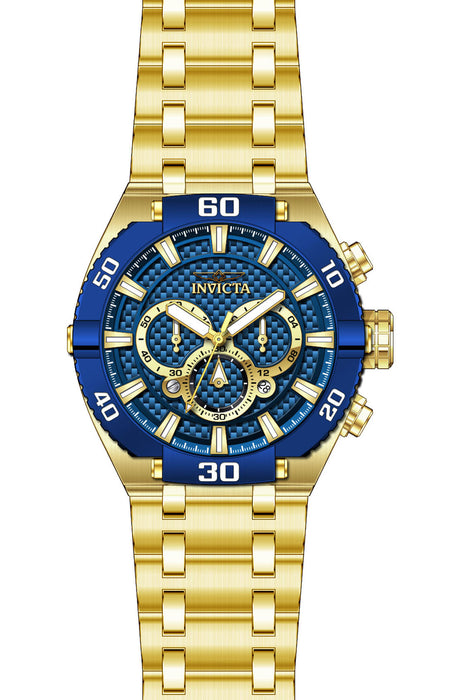 Invicta Men's 27258 Coalition Forces Quartz 3 Hand Blue Dial Watch