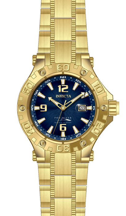 Invicta Men's 27310 Pro Diver Automatic 3 Hand Blue Dial Watch