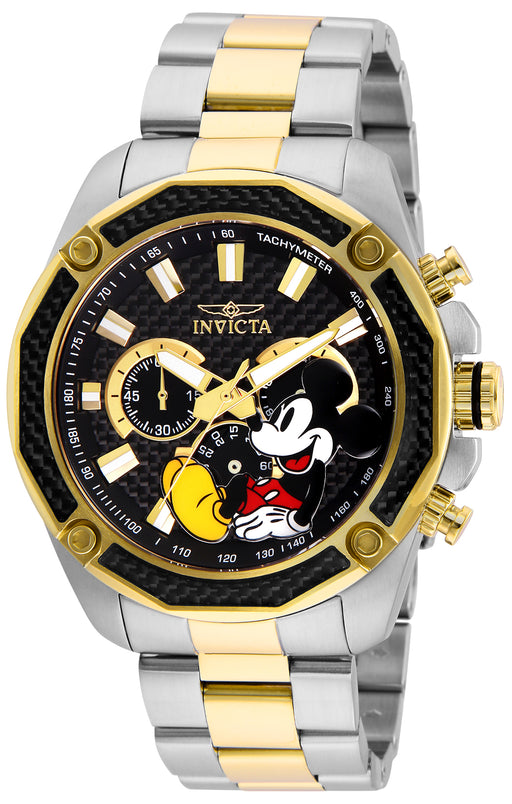 Invicta Men's 27359 Disney  Quartz Chronograph Black Dial Watch