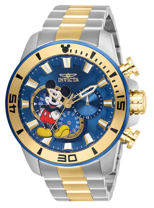 Invicta Men's 27365 Disney  Quartz Chronograph Blue Dial Watch