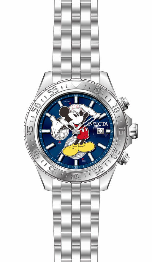 Invicta Men's 27373 Disney  Quartz 3 Hand Blue Dial Watch