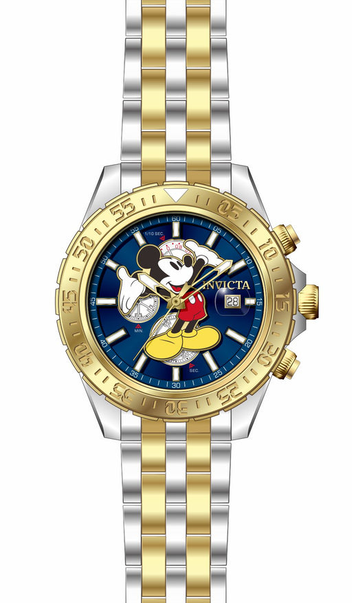 Invicta Men's 27375 Disney  Quartz 3 Hand Blue Dial Watch
