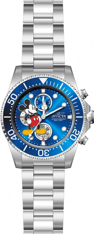 Invicta Men's 27387 Disney  Quartz 3 Hand Blue Dial Watch