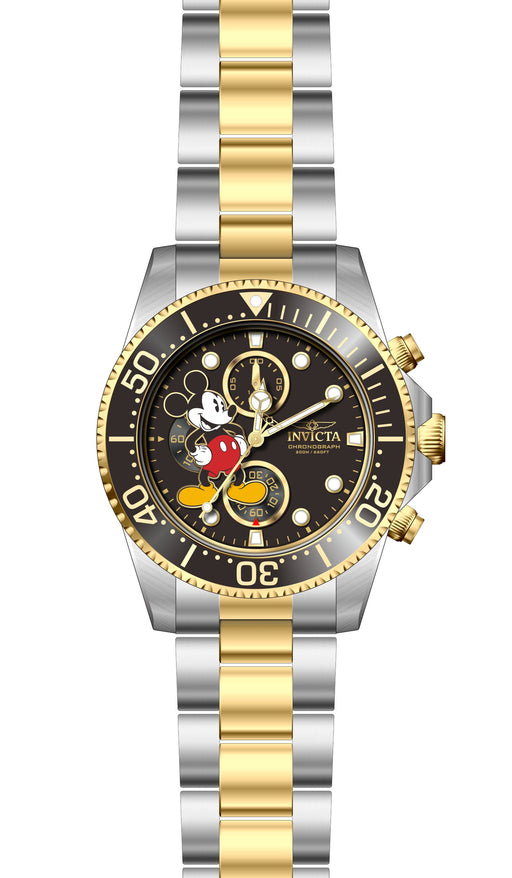 Invicta Men's 27389 Disney  Quartz 3 Hand Black Dial Watch