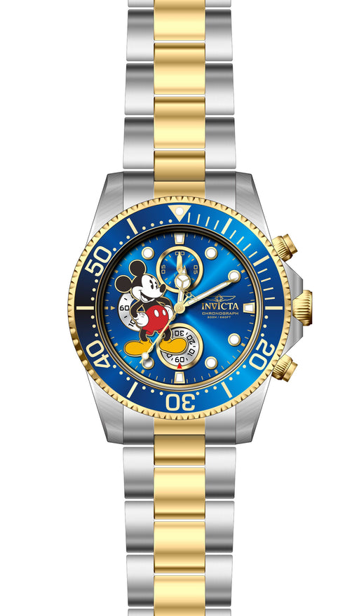 Invicta Men's 27390 Disney  Quartz 3 Hand Blue Dial Watch