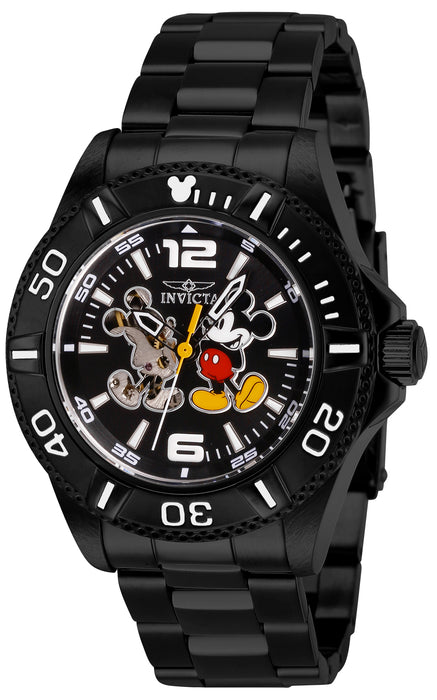 Invicta Men's 27410 Disney  Automatic 3 Hand Black Dial Watch