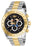 Invicta Men's 27412 Character  Quartz Chronograph Black Dial Watch