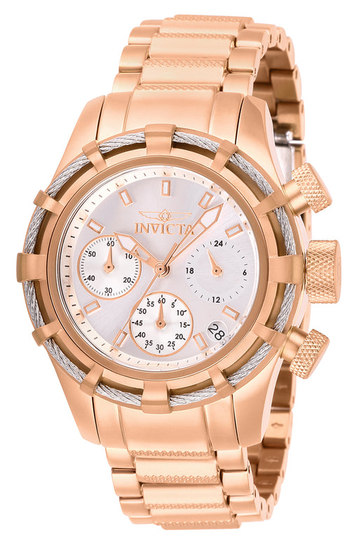 Invicta Women's 27493 Bolt Quartz Chronograph Silver Dial Watch