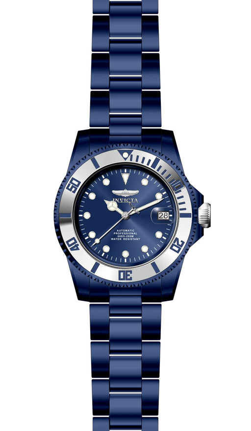 Invicta Men's 27544 Pro Diver Automatic 3 Hand Blue Dial Watch