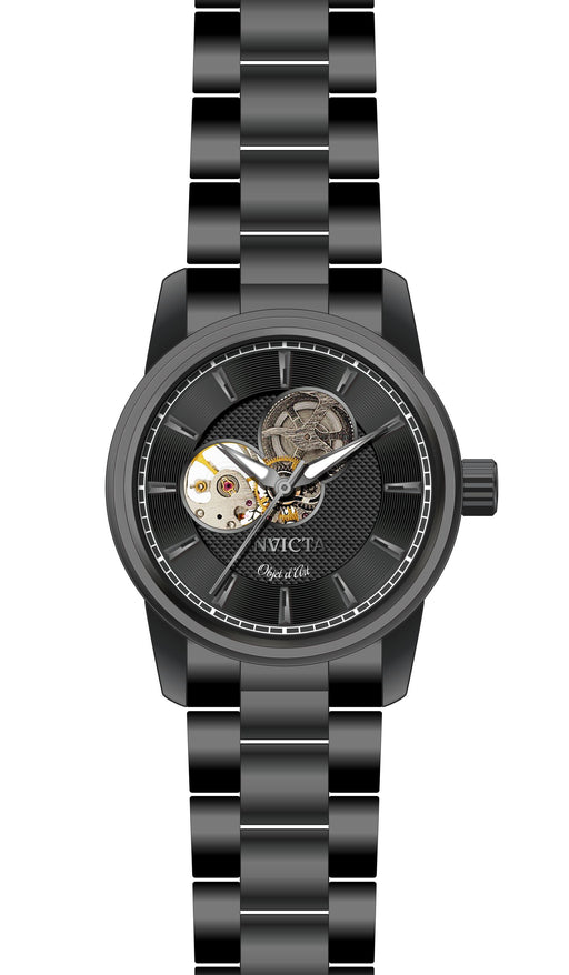 Invicta Men's 27564 Objet D Art Automatic 3 Hand Black Dial Watch