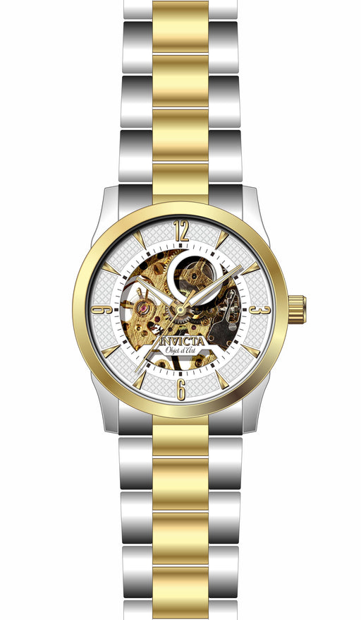 Invicta Men's 27582 Objet D Art Automatic 3 Hand White Dial Watch